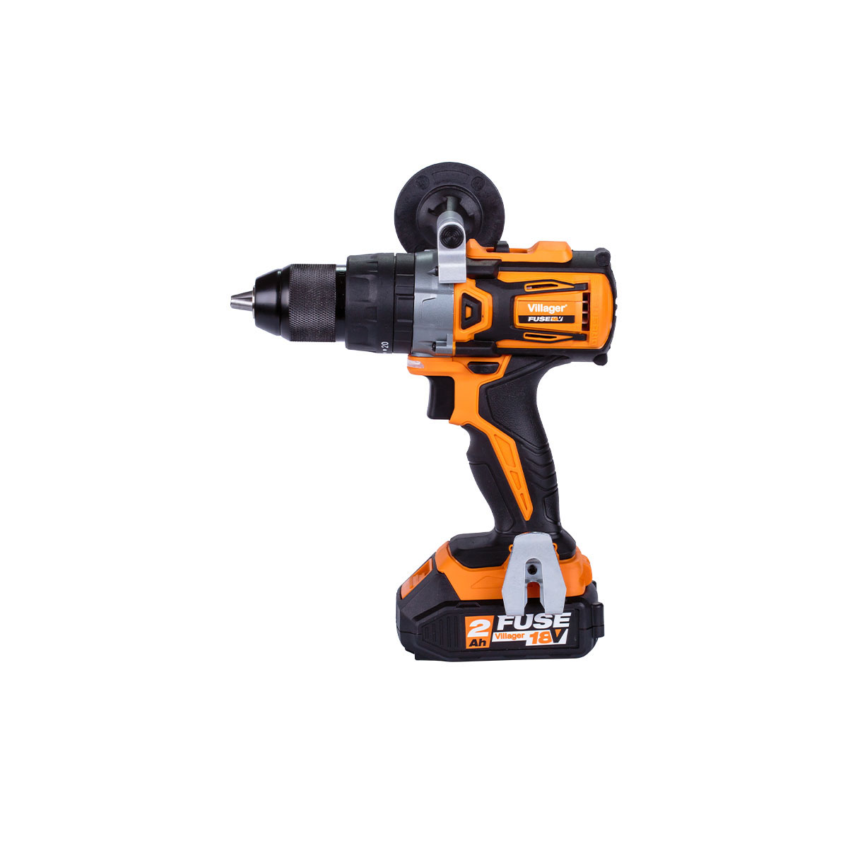 Villager Fuse Brushless Cordless Combi Drill 18v VLP 5120-2BSC with 2 X 2.0AH Batteries