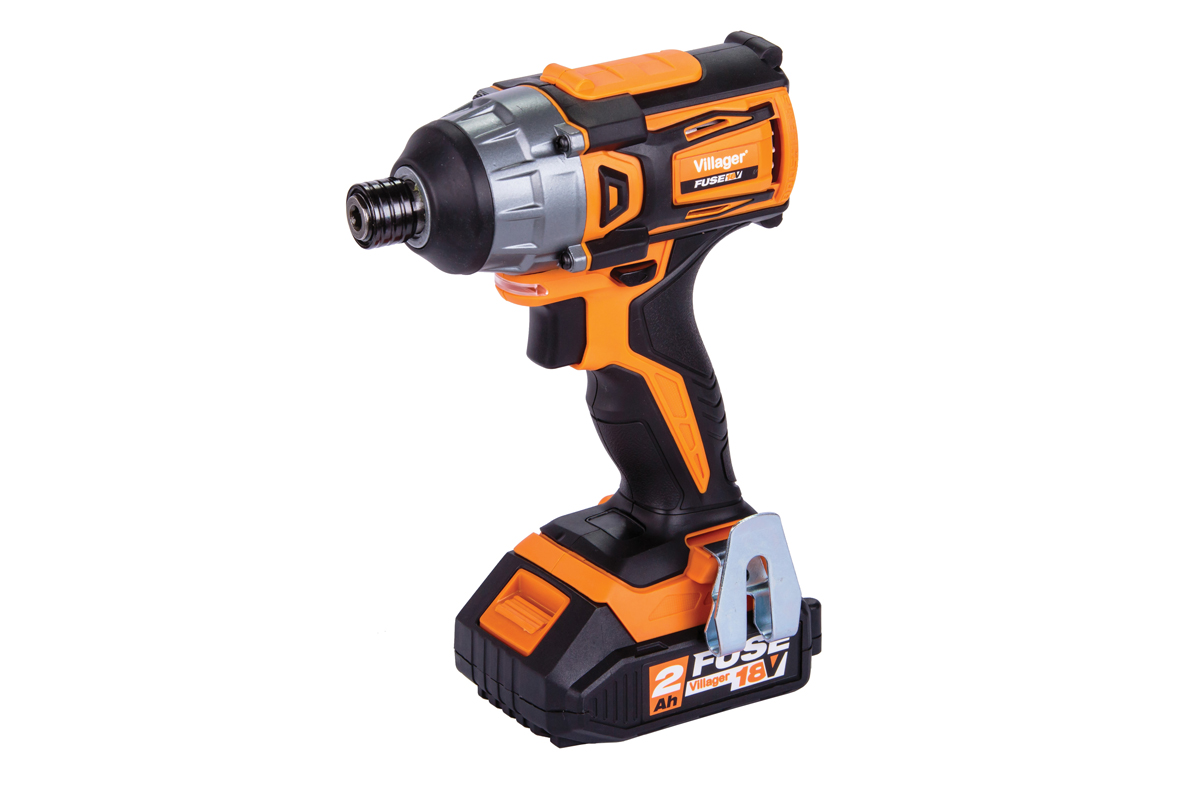 Villager Fuse Brushless Cordless Impact Driver 18 Volt VLP 5420 - Bare Unit