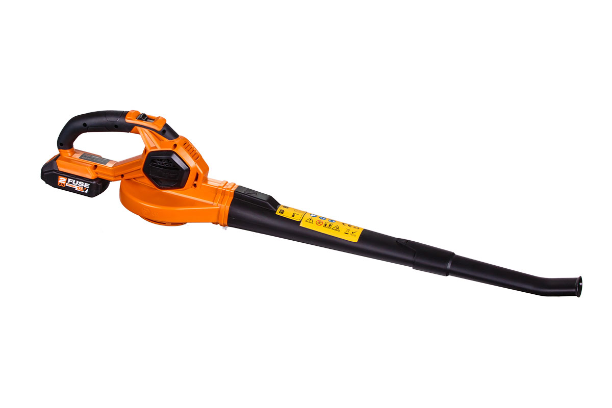 Villager Fuse Cordless Leaf Blower VBV2120 With 1.5Ah Battery And Charger