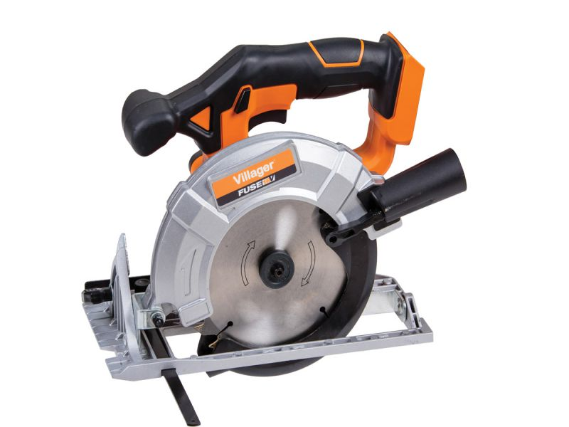 Villager Fuse Cordless Circular Saw 165mm 18 Volt VLN 1620 with 1.5Ah Battery And Charger