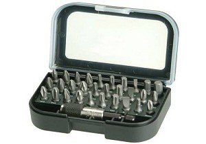 Bahco Bahco 59/S31-DISP/S1 31 Piece Bit Set - Display of 12