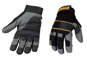 DeWalt Dpg33l Powertool Gel Gloves Black/grey
