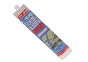 Evo-Stik All Purpose Flex Silicone Sealant Brown 112889