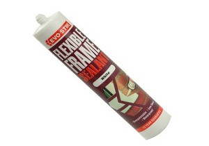 Evo-Stik Flexible Frame Sealant - White 112940