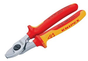 Knipex Cable Shears VDE 95 16 165