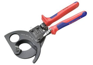 Knipex Cable Shears Ratchet 95 31 280