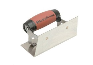 Marshalltown 65SSD Internal Corner Trowel Stainless Steel Durasoft Handle