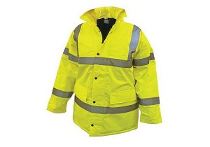 Scan Hi-Vis Motorway Jacket Yellow - Extra Extra Large