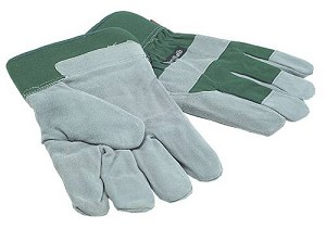 Town & Country TGL412 Mens Fleece Lined Leather Palm Gloves