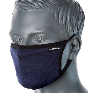 Portwest CV30 3 Ply Fabric Face Mask